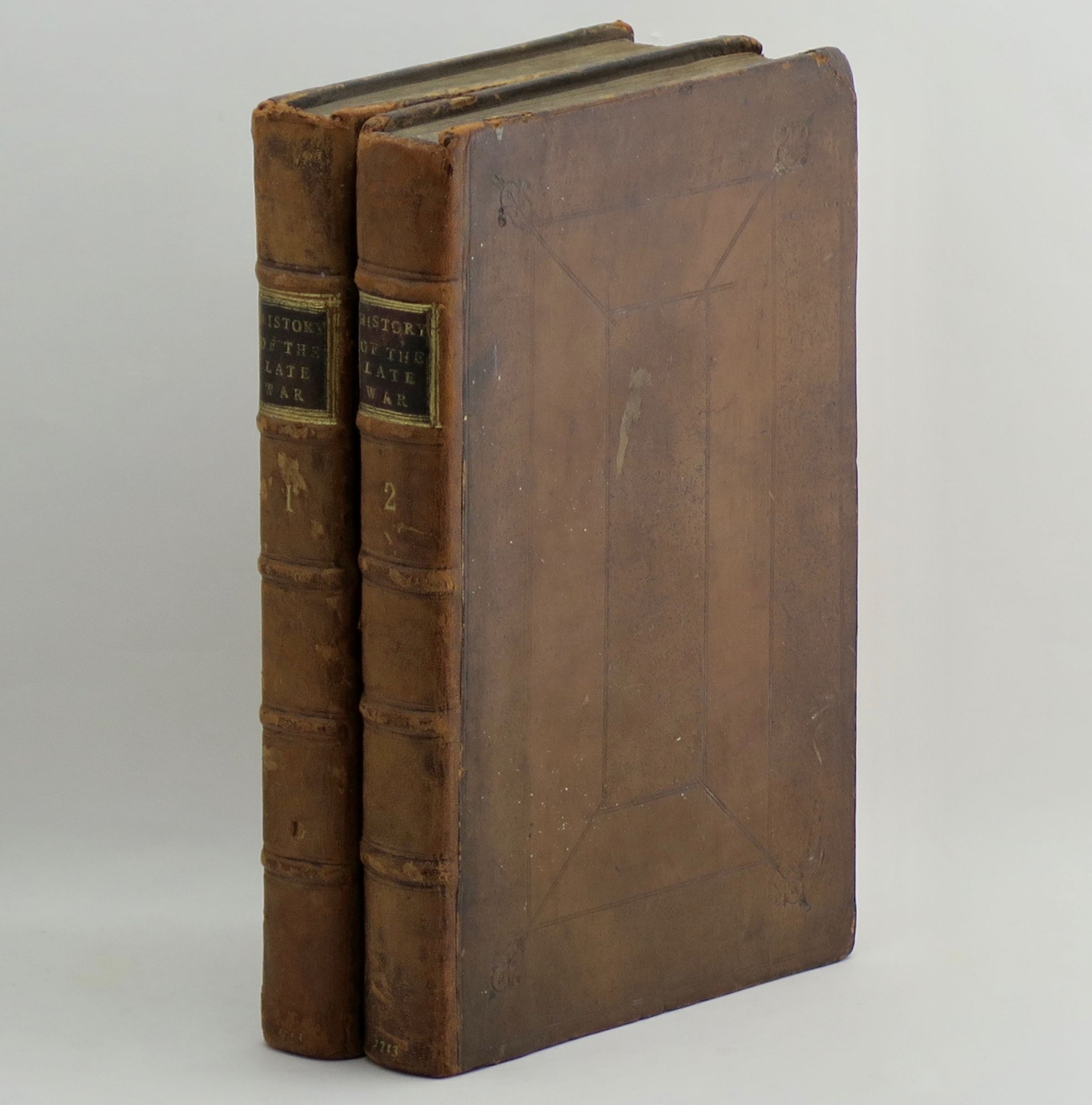 BRODRICK, THOMAS - A Compleat History of the Late War. In the Netherlands. Together with an Abstract of the Treaty of Utrecht. The Whole Illustrated with 15 Curious Copper Plates; and the Coat of Arms of Most of the Nobility, and Several Other Eminent Persons