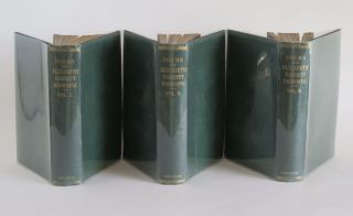 THE POEMS OF ELIZABETH BARRETT BROWNING. Complete in Three Volumes. Corrected by the last London edition with an introductory essay by H. T. Tuckerman.