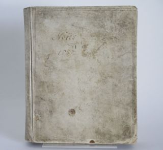 MANUSCRIPT COMMONPLACE BOOK